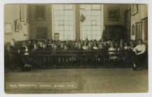 Cwmystwyth Council School class in 1919