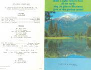 Spokane Gymanfa Ganu 1977