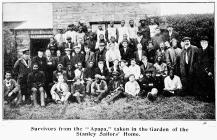 The survivors from the APAPA at Holyhead