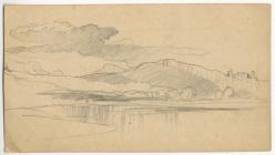 'Pencil sketch landscape study' by...