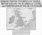 GERMANS TORPEDO TWO MERCHANT VESSELS