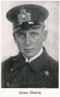 Photograph of Franz Wodrig in Uniform