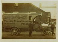 Penarth Steam Laundry Van
