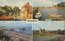 A Colour Postcard Of Penarth