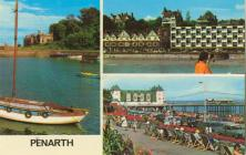 A 3 Picture Postcard of Penarth.