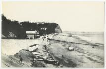 Penarth Beach Before the Building of the Pier.