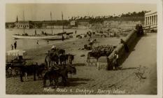 Motor Boats and Donkeys, Barry Island