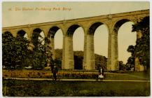 18. The Viaduct. Porthkerry Park. Barry.