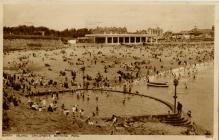 Barry Island, Childrens Bathing Pool.