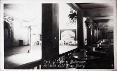 Café and Ballroom at Bindles Night Club.