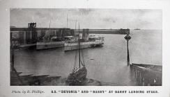 "S.S. ""Devonia"" and ""Barry""..."