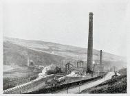 Coal mines.