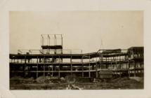 Sully Tuberculosis Hospital being built in 1934.