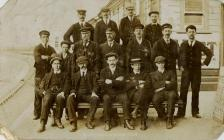 Barry Dock Station Staff, 1908.