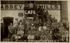 Barry Council Staff Outing 22-06-1938