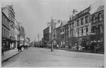 Queen Street, Cardiff.