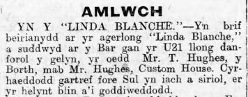 """YN Y """"LINDA BLANCHE"""""""