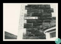 Photographs of the area where the Abertillery...