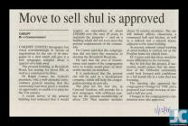 Newspaper clipping about the sale of the Ty...