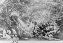 Cawell Bysgota, afon Lledr, tua 1880