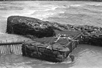 Weir Trap, River Conwy, 1970