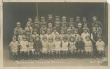 Class photograph Blaengarw Infants' School...