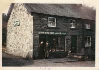 Mill Shop, Penmachno, 1964