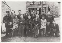 Penmachno Wollen Mill Staff, 1938