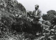 Excavation, Graig Lwyd, 1920