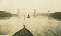 Cychod patrôl ar y glannau, Afon Menai (1918)