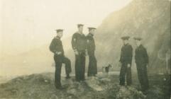 Morwyr o'r UDA, Ynys Arw, Caergybi (1918)
