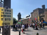 Extinction Rebellion in Cardiff, July 2019
