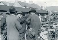 Cowbridge livestock market 1960s