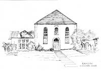 Ramoth chapel, Westgate, Cowbridge, sketch