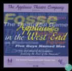 Programme for the musical event, 'Applause...