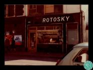 Photographs of the Krotosky butcher's shop at...