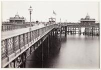 Llandudno, Golygfa ar y Pier, Cymru, c.1880