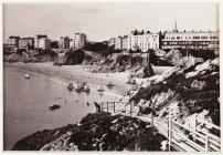 Tenby, from St. Katherine's Rock c.1880