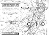 1900 Ordnance Survey Map of Blackmill