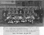 Ogmore Vale Rugby Football Team in 1919.