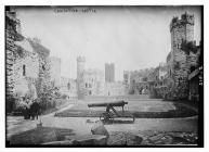 Castell Caernarfon, Cymru, c.1890