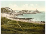 Mumbles Head Lighthouse, Mumbles, Wales, c.1890