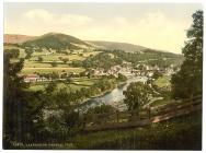 General view, Llangollen c.1890