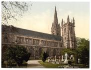 Llandaff Cathedral from the North, Llandaff,...