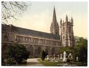 Eglwys Gadeiriol Llandaf, o'r Gogledd, Llandaf,...