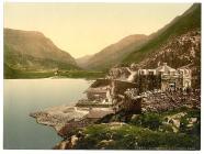 Llyn Peris Pass, Llanberis, Wales, c.1890