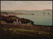 Beaumaris Bay, Beaumaris Castle, Anglesey c.1890