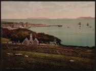 Bae Biwmares, Castell Biwmares, Ynys Môn c.1890