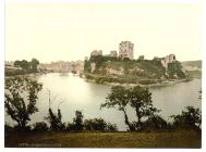 The castle, Pembroke, Wales, c.1890