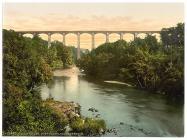 Pontycysyllte Aqueduct, Llangollen, c.1890